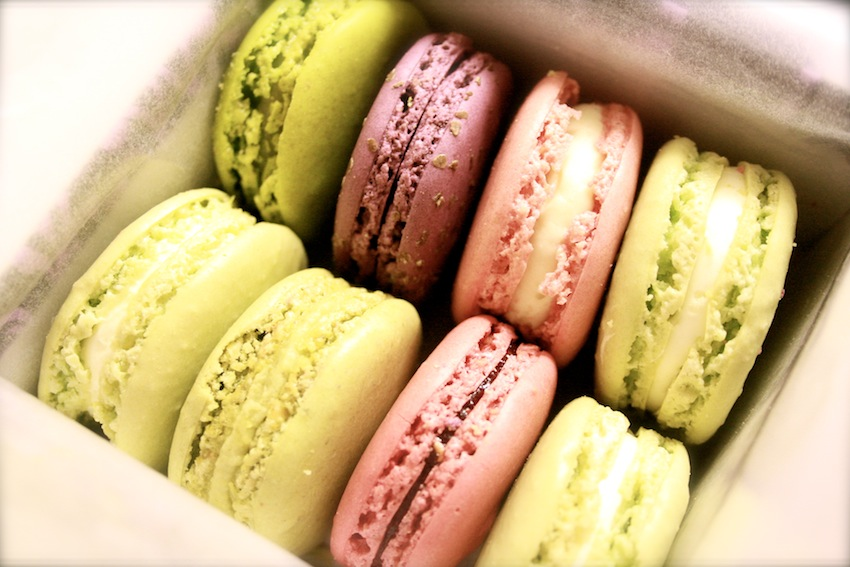 Small Pleasures: Happiness is a Box of Laduree Macarons