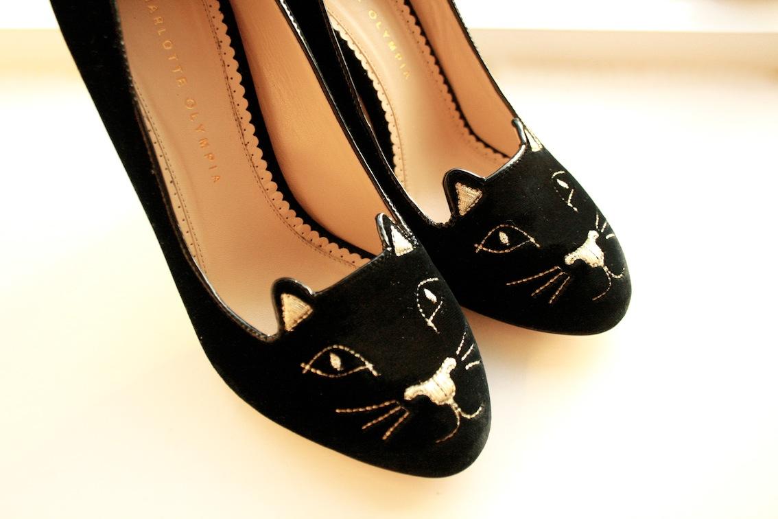 833515f1813b Meow! My Charlotte Olympia Kitty Heels