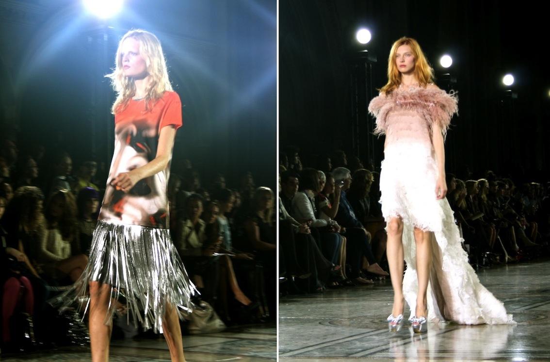 London Fashion Week Giles Spring Summer 12